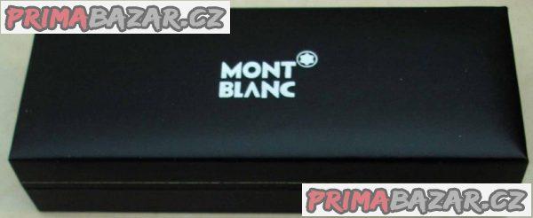 Zlaté plnicí pero Mont Blanc - Meisterstück,