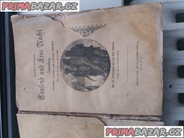 Prodam starou knihu pohadek v nemeckem jazyce-viz foto cena dohodou
