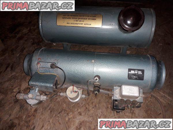 Nezávislé benzínové topení PAL 3 včetně nádrže