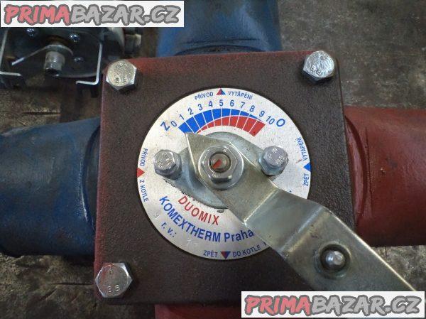 Čtyřcestný ventil se servopohonem
