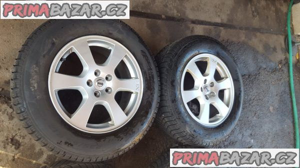 alu kola elektrony Volvo 30671480 XC s pneu 95% dot4816 5x108 7.5jx17 et55