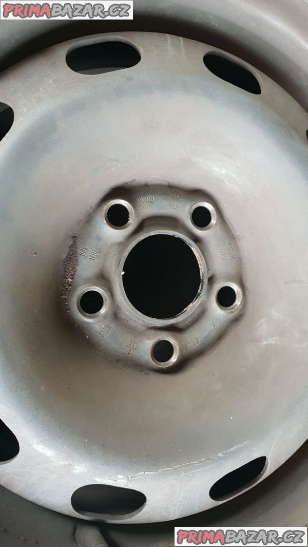 plechove disky s pneu letni firestone 40-30% vzorek 5x100 6jx14 et38 pneu 175/80 r14 88h