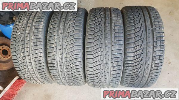 zánovní pneu hankook dot4315 98% vzorek 255/45 r18 103v zet zimni