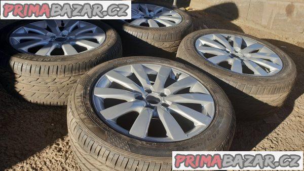 alu kola elektrony Audi 8k0 s pneu c.d.8k0601025c 5x112 8jx17 et47