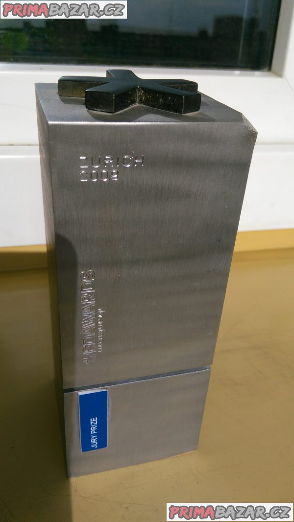 Cena poroty YURI PRIZE ZURICH 2009 EUROPEANS DESIGN