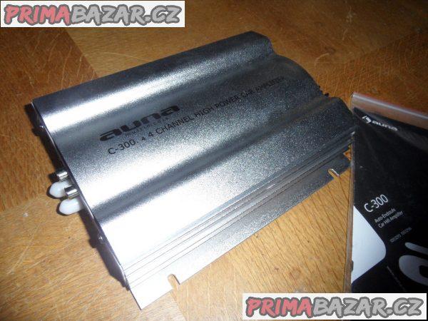 C300.2, 4kanálový zesilovač, 1200W PMPO, 300W RMS