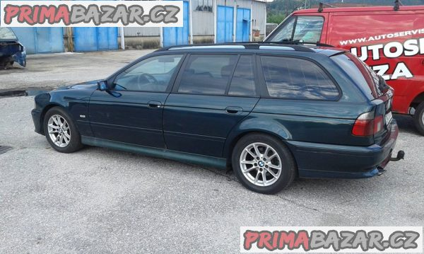 prodám BMW 525 TDS, MANUÁL, EKO PLACENO