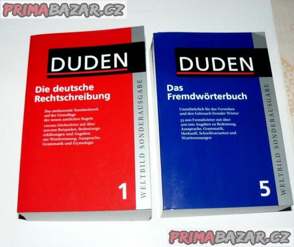 Die deutsche Rechtschreibung DUDEN (německý pravopis) NOVÉ