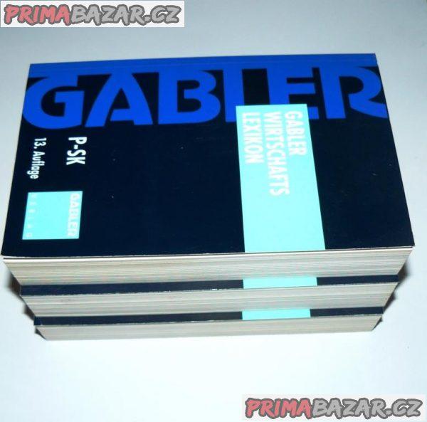 Gabler Wirtschaftslexikon (němčina) NOVÉ-100%