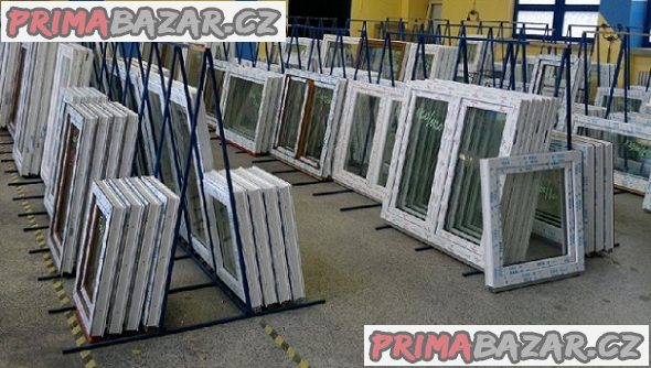 Plastové okno 43x60 bílé