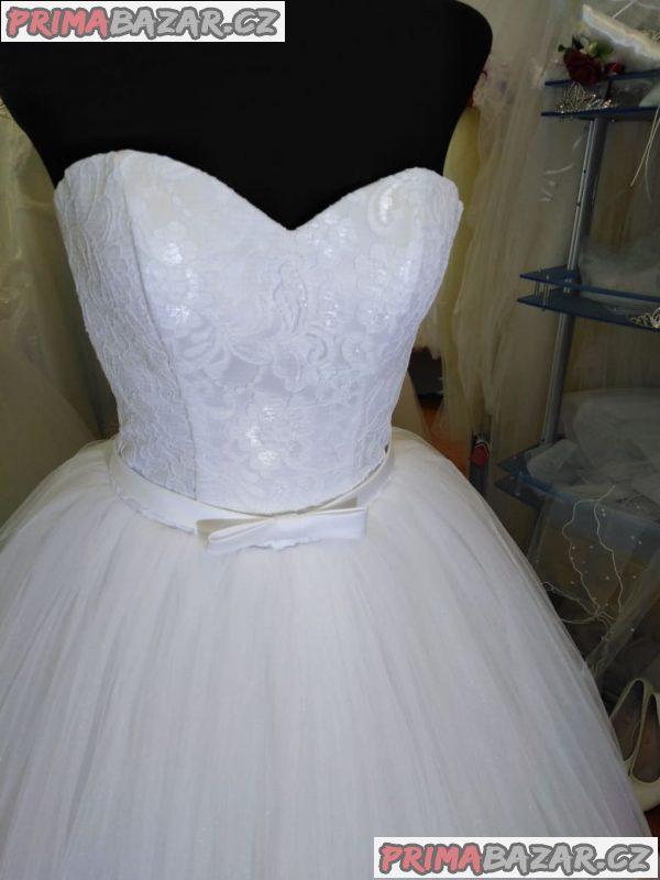 Nové svatební šaty , barva bíla !