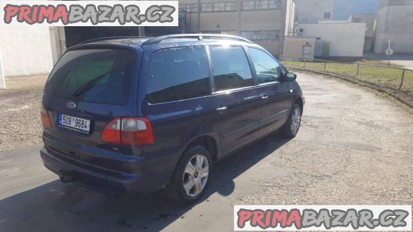 prodám auto Ford Galaxy GHIA max vybava, r.v 2001 1.