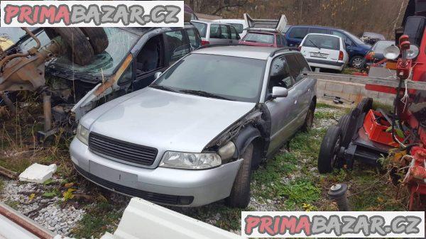 prodám náhradní díly z tohoto vozu Audi A4 r.v 2000