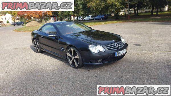 prodám auto Mercedes SL 55 AMG 368KW r.v 2002