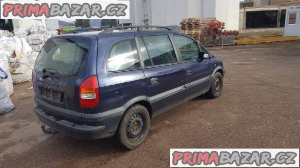 prodám náhradní díly z tohoto vozu Opel zafira 1.6 16