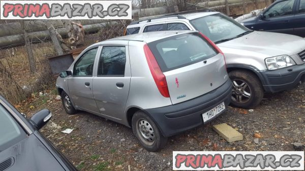 prodám náhradní díly z tohoto vozu Fiat punto 1.2