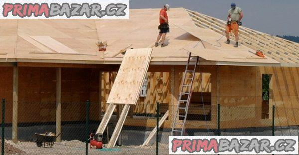 Stavebnice, dřevostavby z Kanady