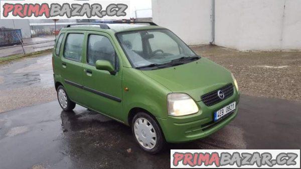 prodám auto Opel Agila 1.0 12V, 43kw, r.v 2003 STK 11/19