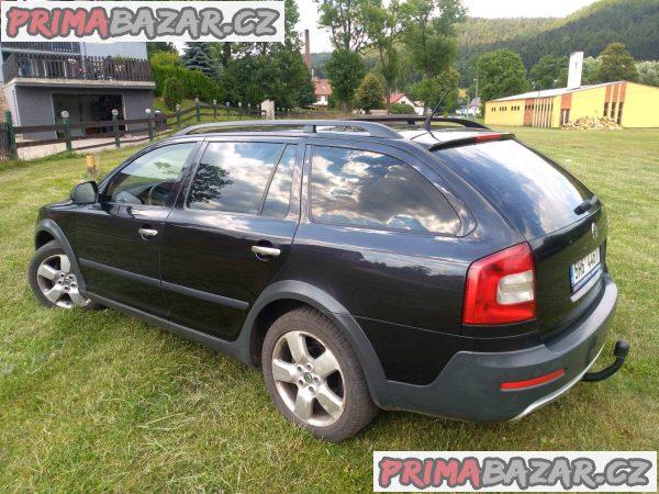prodám auto Skoda Octavia Scout 1.8tsi 4x4, 118