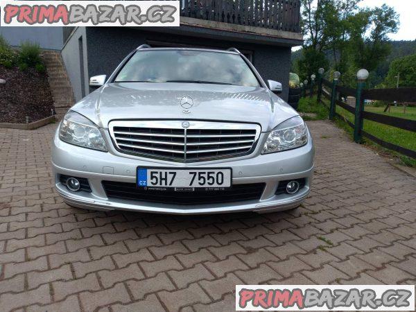 prodám auto Mercedes C 350CDI 4matic, r.v 2009 najeto 3