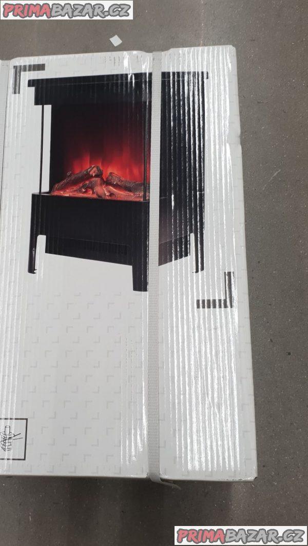 prodám nový elektrický krb přímotop LED vykouzlí v každé místnosti realistickou iluzi plamene. Jemné světlo realisticky napodobuje skutečné plameny a doutnající polena a okamžitě šíří útulnou, romantickou atmosféru. Plameny jsou zce