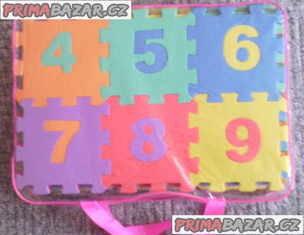 Pěnové puzzle ( mix 72 ks )