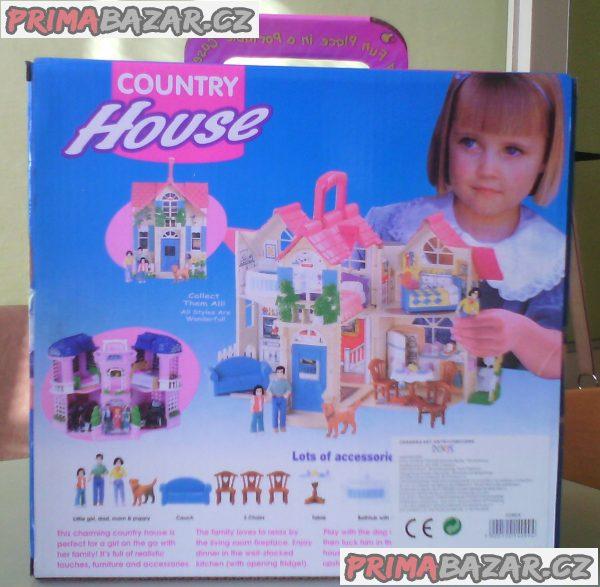 Domeček pro panenky Country house