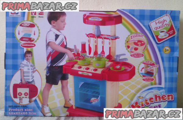 Dětská kuchyňka v kufříku