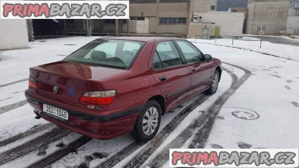 Peugeot 406 1.6 benzin nova STK a emise, auto