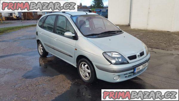 Renault megane scenic 1.9dci 75kw r.v 2002