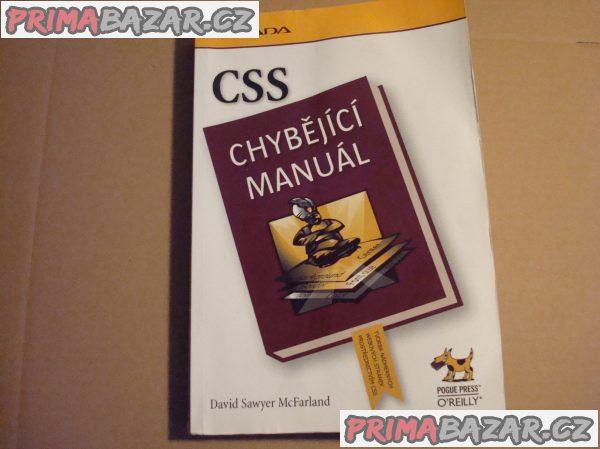 CSS - chybějící manuál (poškozeno)