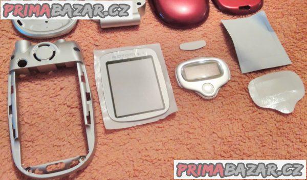 Motorola V300 - kompletní sada všech krytů a plastů - 8 částí - vše nové!!!