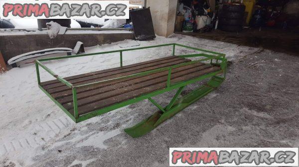 prodám Saně vozík za sněžný skutr nebo čtyrkolku, snězné san