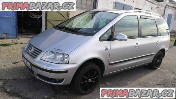prodám náhradní díly na Volkswagen Sharan 7m 2.0tdi 1