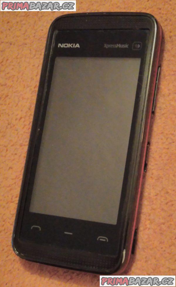 Nokia 5530 XpressMusic - k opravě nebo na náhradní díly!!!