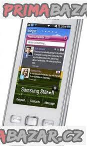 SAMSUNG STAR II GT-S5620 white