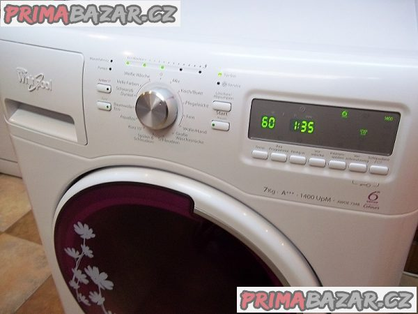 Pračka WHIRLPOOL AWOE 7348 - tř. A+++, 1400 ot., 7 kg