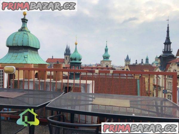 Pronájem klimatizovaného bytu 3+1, 84 m2, Praha - Josefov