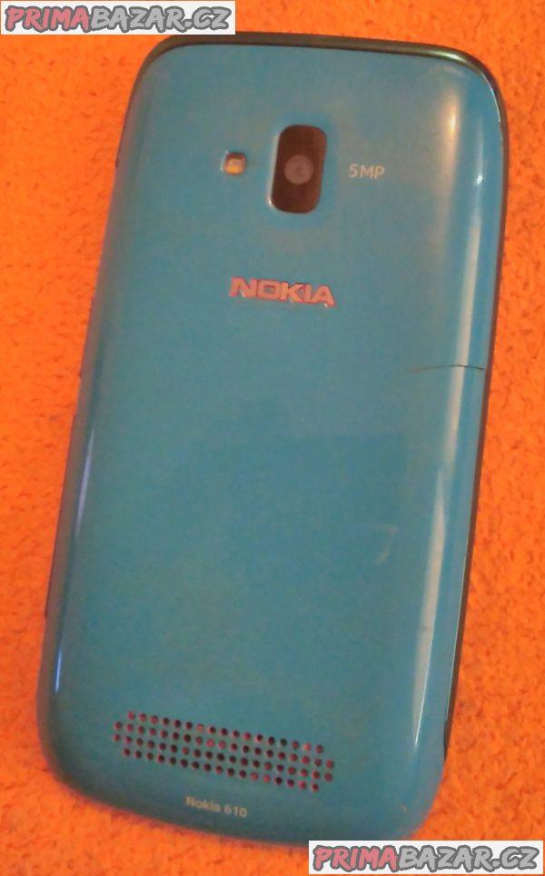 Nokia 610 - k opravě nebo na náhradní díly!!!