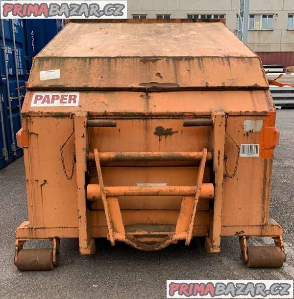 Mobilní lisovací kontejner