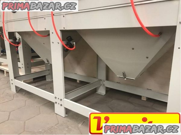 Pískovací - tryskací box – dvoukomorový