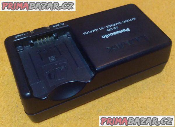 Nabíječka a adaptér kfoťákům a kamerám Panasonic Lumix - originální.