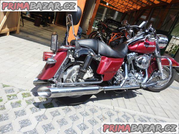 Harley Davidson Laděné Výfuky Nerezové Nové