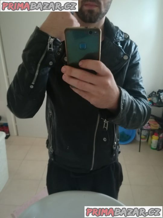 Kožená bunda Křivák