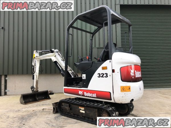 Minibagr Bobcat 323 T1.5