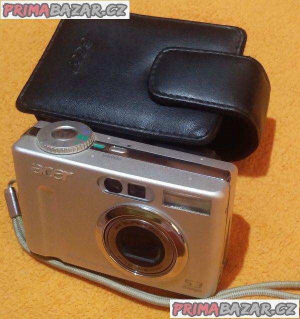 Digitální foťák a kamera Acer CR-5130 - bez baterie!!!