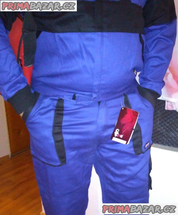 Nové kvalitní pracovní montérky - kalhoty a bunda + DÁREK.