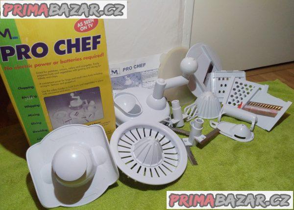 Víceúčelový kuchyňský set Pro Chef - 12 kusů.