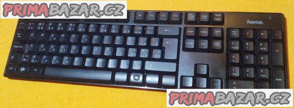 Bezdrátová klávesnice Hama RF2200 - bez přijímače!!!