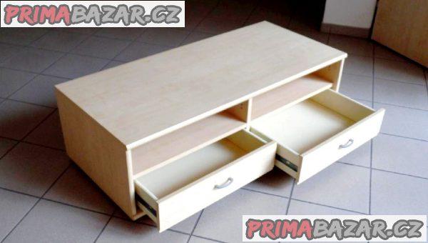 VÍCEÚČELOVÁ skříňka s pojízdnými zásuvkami